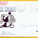 1972 Munich Water Polo Bronze BRUCE BRADLEY Autographed Cover 1968