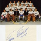 1976 Innsbruck Ice Hockey Bronze FRANZ REINDL Autograph & Pict