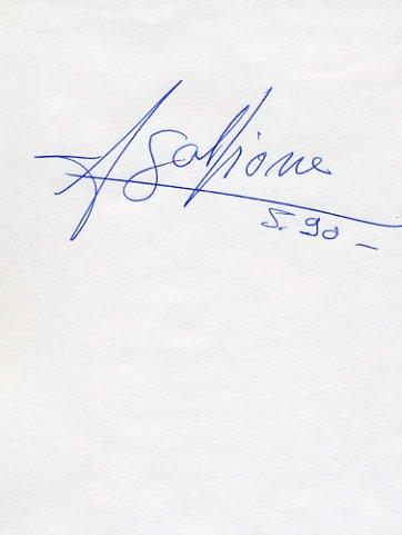 1996 Atlanta Athletics Pole Vault Gold JEAN GALFIONE Autograph