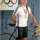 1988 Seoul Cycling  Silver JUTTA NIEHAUS Hand Signed Photo 1988