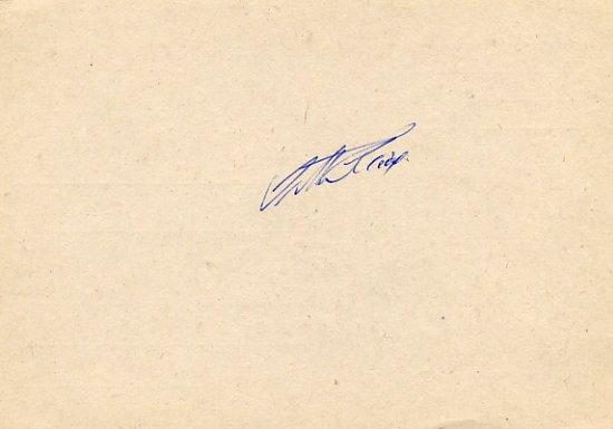 1960 Rome Athletics 200m & 4x100m Relay Silver JUTTA HEINE Autograph