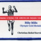 "1964 Tokyo Athletics 10000 m Gold BILLY MILLS ""Running Strong For American Indian Youth"""