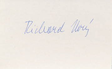 1964 Tokyo Rowing Bronze RICHARD NOVY  Autograph