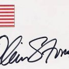 Academy Award Winning Director OLIVER STONE Autographed Card