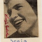 1960 Squaw Valley Cross Country Skiing Gold SONJA EDSTROM Hand Signed Picture '50s