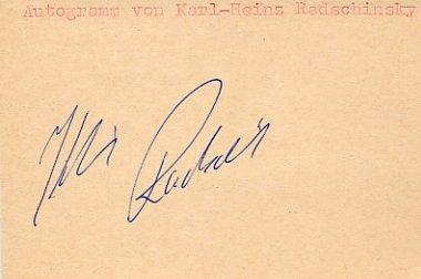 1984 Los Angeles Weightlifting Gold KARL HEINZ RADSCHINSKY Autograph 1984