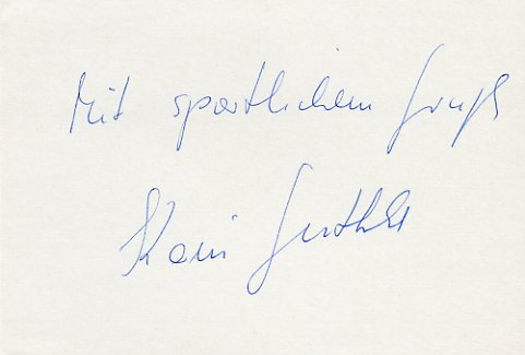 1980 Moscow Diving Bronze KARIN GUTHKE Autograph 1980