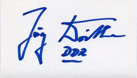 1980 Moscow Swimming Gold JORG WOITHE Autograph 1980