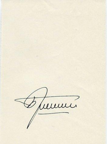 1964 Tokyo & 1968 Mexico City Water Polo Medalist BORIS GRISHIN Autograph 1990
