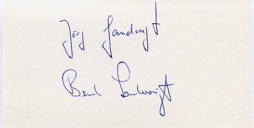 1976 Montreal & 1980 Moscow Rowing Gold LANDVOIGT BROTHERS Autographs 1980s
