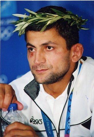 2004 Athens Judo Gold ZURAB ZVIADAURI Hand Signed Photo