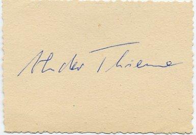 1976 Montreal Athletics 4x100m Relay Silver ALEXANDER THIEME Autograph