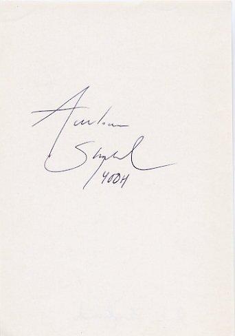 1982 Athens European 400m Hurdles Champion ANN LOUISE SKOGLUND Autograph