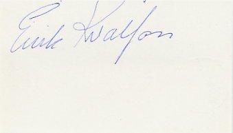 1984 Sarajevo Biathlon Gold EIRIK KVALFOSS Autograph