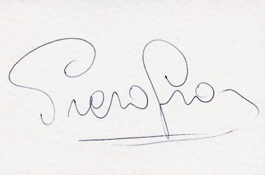 1976 Innsbruck Alpine Skiing Gold PIERO GROS Autographed Card