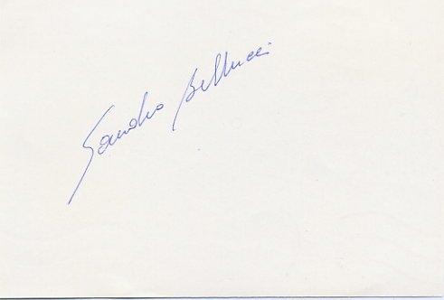 1984 Los Angeles Athletics 50 km Walk Bronze SANDRO BELLUCCI Autograph