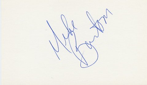 1972 Munich Basketball Silver & NBA MICHAEL BANTOM Autographed Card #3