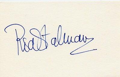 1984 Los Angeles Athletics Discus Gold RIA STALMAN Autograph #2