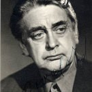 Well-known Estonian Theater Director KAAREL IRD Autographed Photo 1970