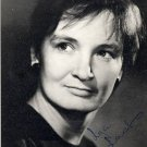 Estonian Actress LIA (LYA) LAATS Autographed Photo 1970
