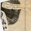 BBC Sports Commentator RAYMOND GLENDENNING Autograph 1948