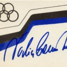 1976 Montreal & 1980 Moscow Gymnastics 9 Medals NADIA COMANECI Autographed Card