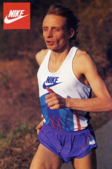 1993 Half Marathon World Champion VINCENT ROUSSEAU Hand Signed Photo
