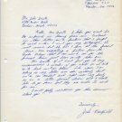 Texas Southern - High Jump Star JOHN HARTFIELD Autograph Letter Signed 1960s