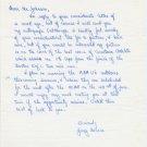 Duke University - 1960s Track Distance Star JERRY NOURSE Autograph Letter Signed 1962