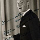 Estonian Singer VELLO ORUMETS Autographed Photo 1968