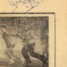 1960s Four-Time Ice Dance World Champion BERNARD FORD Autograph 1968