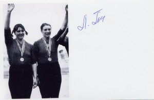 1976-1980 Rowing Silver & Gold LARISA ALEKSANDROVA-POPOVA  SP 4x6