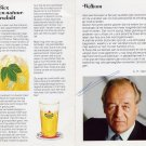 Dutch Brewer ALFRED HEINEKEN Autographed Flyer 1990s