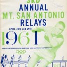 3rd Mt. SAC Relays Program Bob Gutowski Signed Stan Worsfold