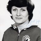 1976 Montreal Handball Silver & 1980 Moscow Bronze PETRA UHLIG Signed Photo 4x6