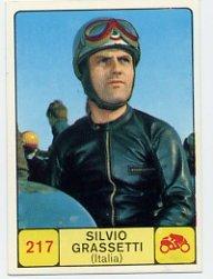 1968 Panini Campioni Dello Sport - #217 SILVIO GRASSETTI