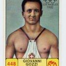 1968 Panini Campioni Dello Sport - #448 GIOVANNI GOZZI - Wrestling