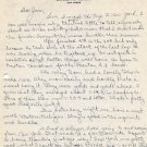 University of Michigan & Wesleyan Cross Country Coach J. ELMER SWANSON Autograph Letter Signed 1944