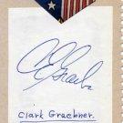 Tennis 1966 French Open CLARK GRAEBNER & ULF SCHMIDT Autographs 1960s