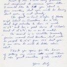 1960s Kansas University Track & Field Star BOB STEINHOFF Autograph Letter Signed 1966