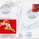 1976 Montreal Athletics 200m Gold DON QUARRIE Autographed Cover 1979 (+3)