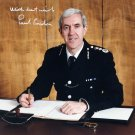 Former Metropolitan Police Chief PAUL CONDON Hand Signed Photo from 1990s