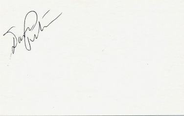 1988-92 US Olympic Ice Hockey Team Coach DAVE PETERSON Autographed Card 1985