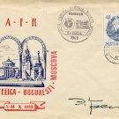 Legendary Polar Explorer North Pole 1 ERNST KRENKEL Autographed Cover 1969