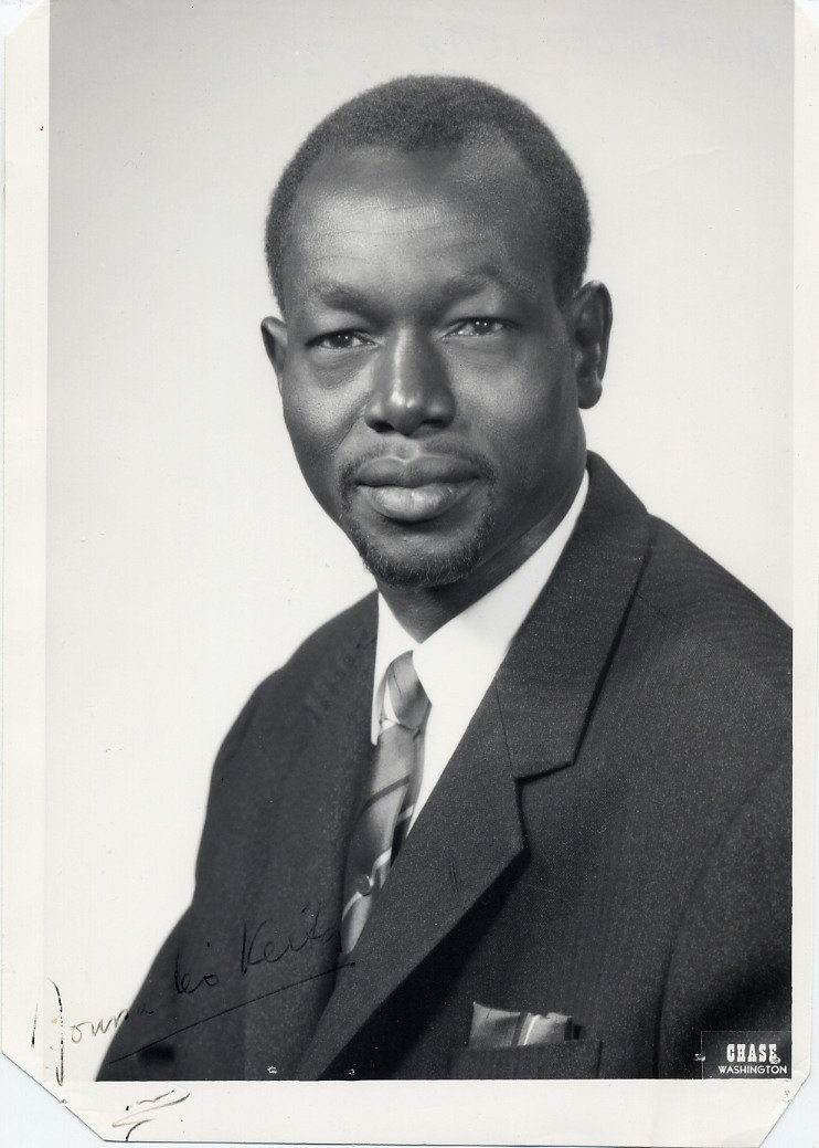 1966 United Nations Security Council President MOUSSA LEO KEITA Signed Photo 5x7