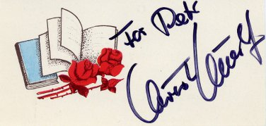 1980 Lake Placid & 1988 Calgary Alpine Skiing Medalist CHRISTA KINSHOFER Autographed Card 1981