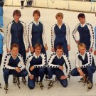 1988 Calgary Olympics Speed Skating Silver JAN YKEMA Hand Signed Photo 1988