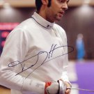 2008 Fencing Olympic Champion MATTEO TAGLIARIOL Hand Signed Photo 4x6