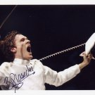 2012 Fencing Olympic Silver BARTOSZ PIASECKI Hand Signed Photo 4x6