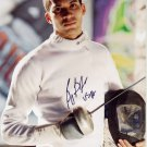 2012 Fencing World Champion BENJAMIN BRATTON Hand Signed Photo 4x6